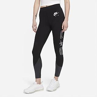 Nike Air Damen-Leggings mit hohem Bund