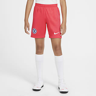 Chelsea F.C. 2020/21 Stadium Third Older Kids' Football Shorts