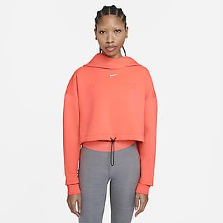 Nike Pro Sudadera con capucha para mujer