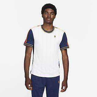 NikeCourt Dri-FIT Slam Мужская теннисная футболка с коротким рукавом