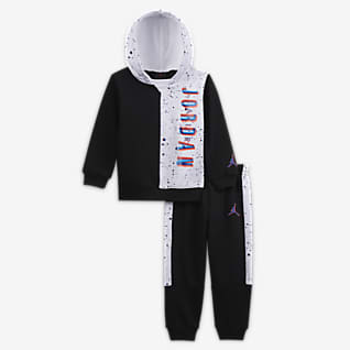 Jordan Zestaw bluza z kapturem i spodnie dla niemowląt (12–24 M)