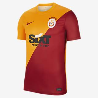Домашняя форма ФК «Галатасарай» Мужская игровая футболка с коротким рукавом