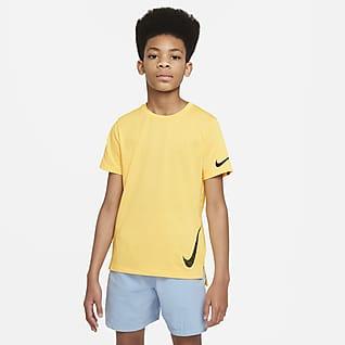 Nike Instacool Big Kids' (Boys') Short-Sleeve Training Top