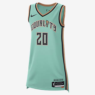 Sabrina Ionescu Liberty Rebel Edition Nike Dri-FIT WNBA Victory Jersey