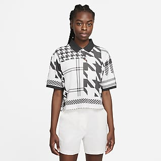 The Nike Polo Γυναικεία καρό μπλούζα πόλο