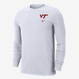 Nike College (Virginia Tech) Men's Long-Sleeve T-Shirt