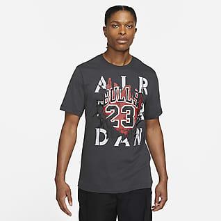 Jordan AJ5 '85 Pánské tričko sgrafickým motivem akrátkým rukávem