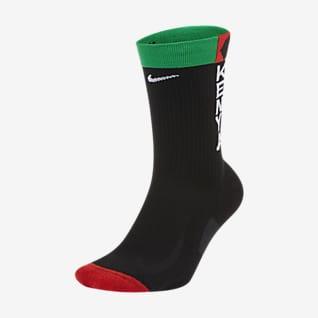 Nike Team Kenya Multiplier Středně vysoké běžecké ponožky