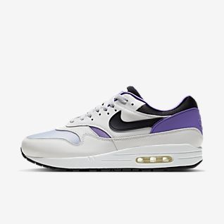 Nike Air Max 1 Powerwall Pink Trainers Clearance