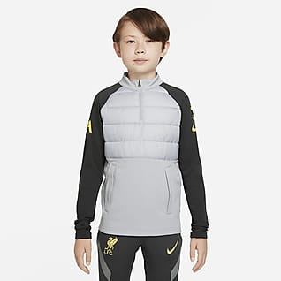 Liverpool F.C. Academy Pro Winter Warrior Older Kids' Nike Therma-FIT Football Drill Top
