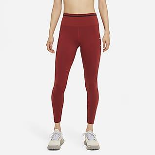 Nike Epic Luxe เลกกิ้งวิ่งเทรลเอวปานกลางผู้หญิง