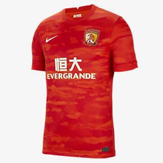 Guangzhou Evergrande Taobao FC 2020/21 Stadium Home Herren-Fußballtrikot