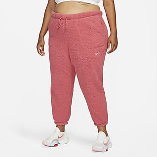Nike Therma-FIT Pantalones de entrenamiento para mujer (talla grande)