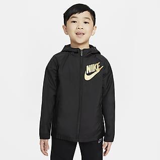 Nike Sportswear Windrunner Chamarra para niños talla pequeña