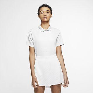Nike Dri-FIT Ace Golf-Poloshirt für Damen