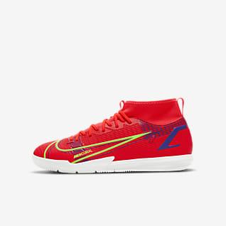 Nike Jr. Mercurial Superfly 8 Academy IC Fotballsko til innendørsbane/gate
