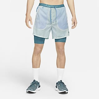 Nike Dri-FIT Wild Run Flex Stride กางเกงวิ่งขาสั้น 7 นิ้ว 2-in-1 ผู้ชาย