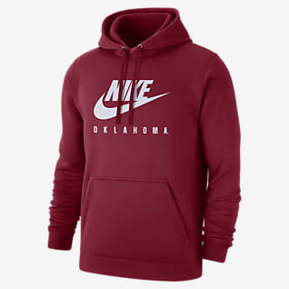 Nike College Club Fleece (Oklahoma) Sudadera con gorro sin cierre para hombre