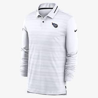 Nike Logo (NFL Titans) Men's Long-Sleeve Polo
