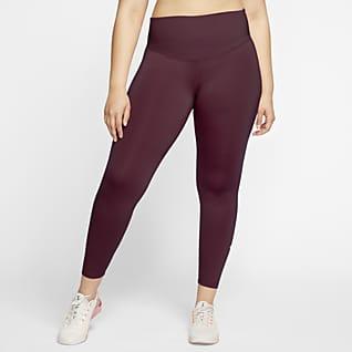 Nike One Γυναικείο κολάν (μεγάλα μεγέθη)