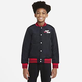 Jordan 大童(男孩)双面穿夹克