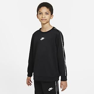 Nike Sportswear Sudadera de cuello redondo para niño talla grande