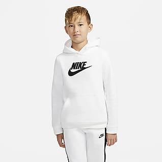 Nike Sportswear AF1 Sudadera con capucha sin cierre para niños talla grande