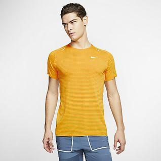 Hombre Amarillo Prendas para la parte superior. Nike US