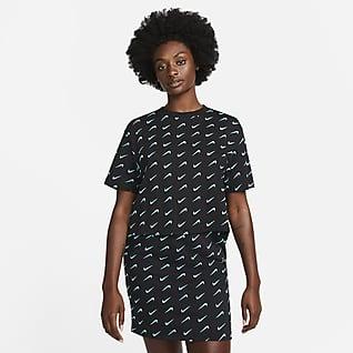 Nike Sportswear Icon Clash เสื้อโอเวอร์ไซส์ผู้หญิง