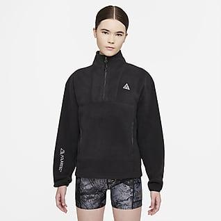 "Nike ACG Therma-FIT ""Wolf Tree"" Γυναικεία μπλούζα με φερμουάρ στο μισό μήκος"