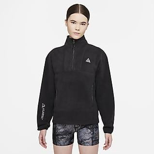 """Nike ACG Therma-FIT """"Wolf Tree"""" Top con zip a metà lunghezza - Donna"""