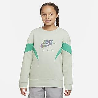 Nike Air Big Kids' (Girls') French Terry Sweatshirt