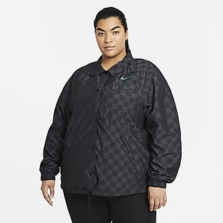Nike Sportswear Icon Clash Chamarra de entrenador para mujer talla grande