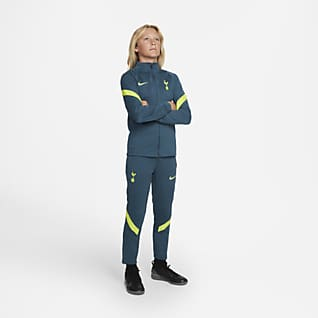 Tottenham Hotspur Strike Older Kids' Nike Dri-FIT Knit Football Tracksuit