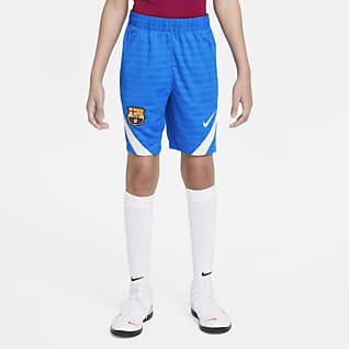 FC Barcelona Strike Fodboldshorts til større børn