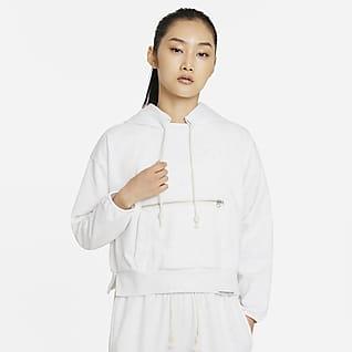 Nike Dri-FIT Swoosh Fly Standard Issue 女子套头篮球连帽衫