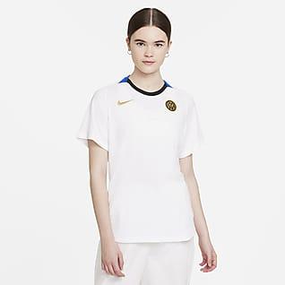 Inter Mediolan Damska koszulka piłkarska z krótkim rękawem Nike Dri-FIT