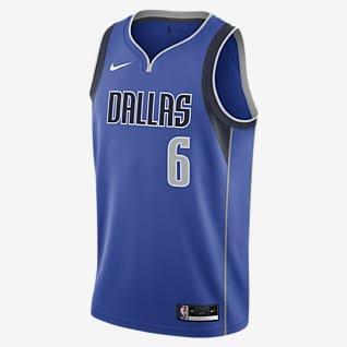 Kristaps Porzingis Mavericks Icon Edition 2020 Nike NBA Swingman Jersey