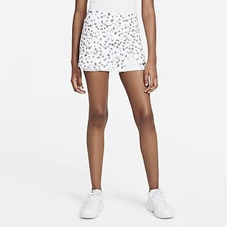 NikeCourt Dri-FIT Victory Γυναικεία εμπριμέ φούστα τένις