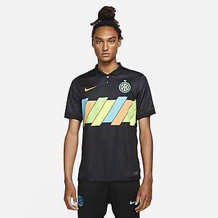 Inter Mediolan Stadium 2021/22 (wersja trzecia) Męska koszulka piłkarska Nike Dri-FIT
