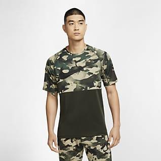 Nike Pro Męska koszulka z krótkim rękawem w moro