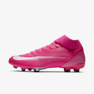 Nike Mercurial Superfly 7 Academy Mbappé Rosa MG Botas de fútbol para múltiples superficies
