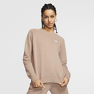 Nike Sportswear Essential Fleece Kadın Crew Üst