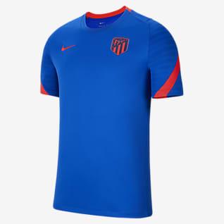Atlético Madrid Strike Men's Short-Sleeve Football Top