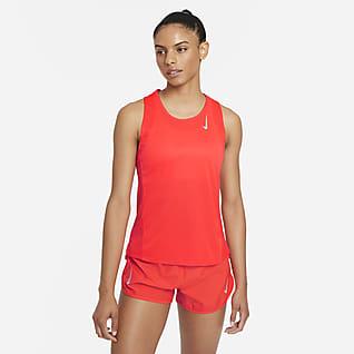 Nike Dri-FIT Race Camiseta sin mangas de running para mujer