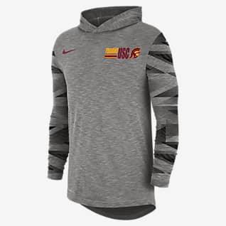 Nike College Dri-FIT (USC) Men's Long-Sleeve Hooded T-Shirt