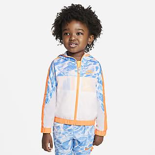 Nike Chamarra de tejido Woven y cierre completo para bebé