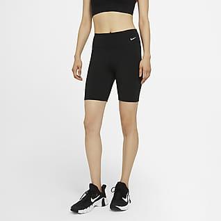 Nike One กางเกงขาสั้นเอวปานกลาง 7 นิ้วผู้หญิง