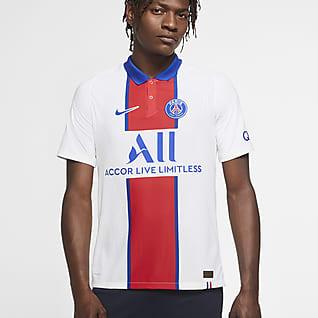 Paris Saint-Germain 2020/21 Vapor Match (bortaställ) Fotbollströja för män