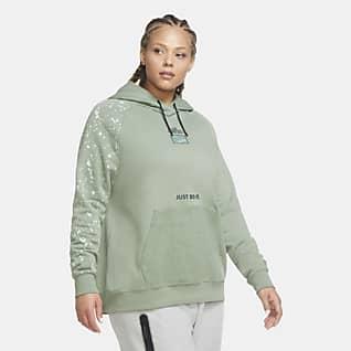 Nike Sportswear Essential Sudadera con capucha sin cierre para mujer (talla grande)